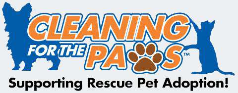 Cleaning For The Paws - Supporting Rescue Pet Adoption
